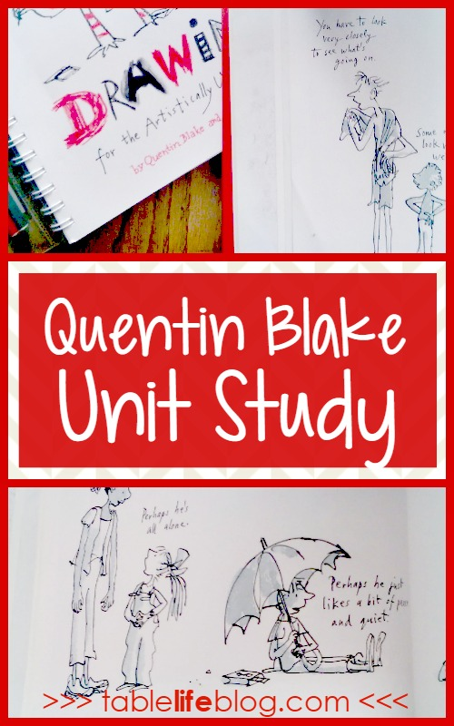 Explore the life and work of one of the world's greatest illustrators through this Quentin Blake Unit Study.