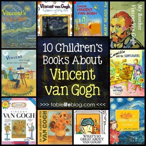 10 Children's Books about Vincent van Gogh