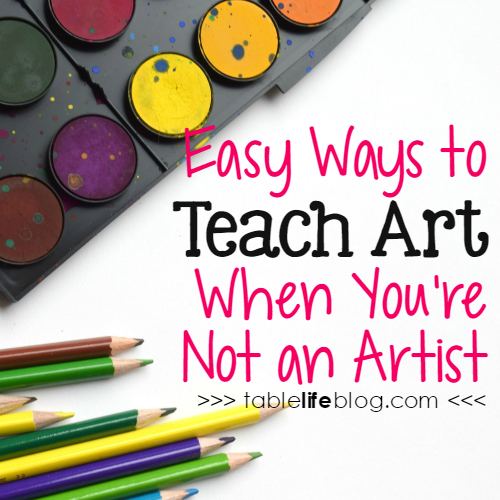 Easy Ways to Teach Art When You're Not an Artist