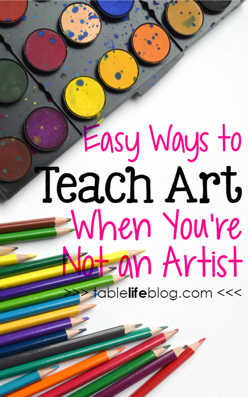 How to Teach Art When You're Not an Artist