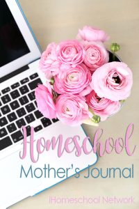 Homeschool Mother's Journal - Permission to Slack Off