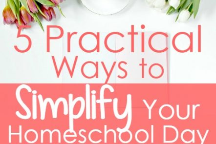5 Practical Ways to Simplify Your Homeschool Day