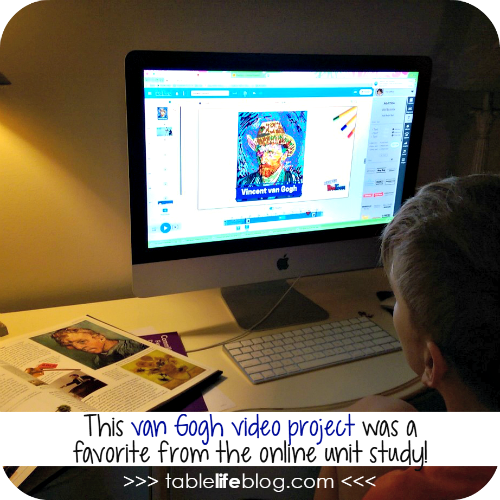 Meeting the Master Artists: Vincent van Gogh (van Gogh Unit Study Resources)