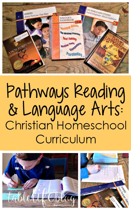 Pathways: Faith-Based Language Arts Curriculum for Homeschool