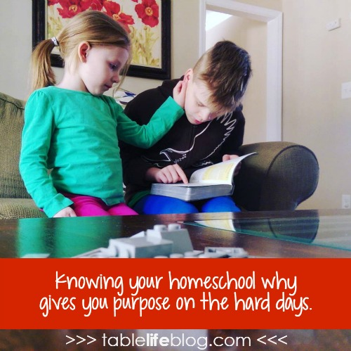 The Power of Knowing Your Homeschool Why