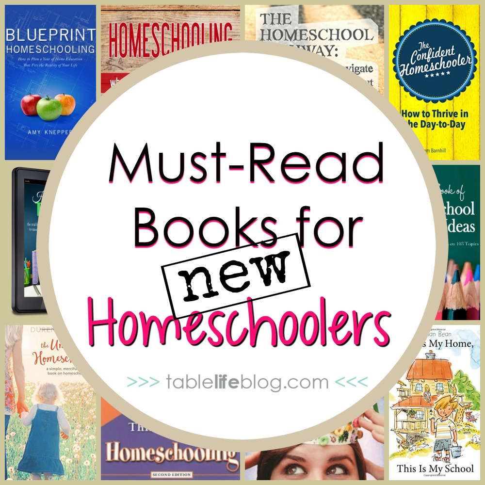 Must Read Homeschool Articles For Encouragement And: 10 Must-Read Books For New Homeschoolers
