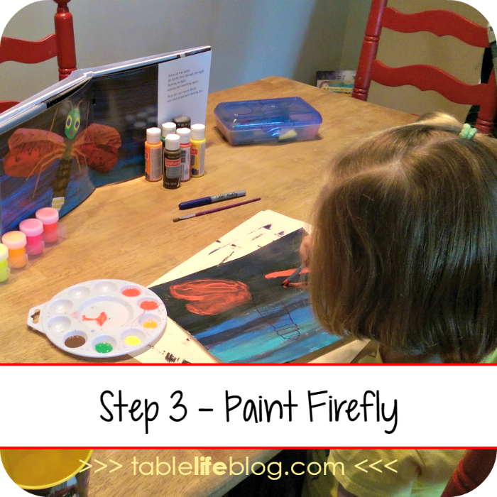 The Very Lonely Firefly Art Project for Kids