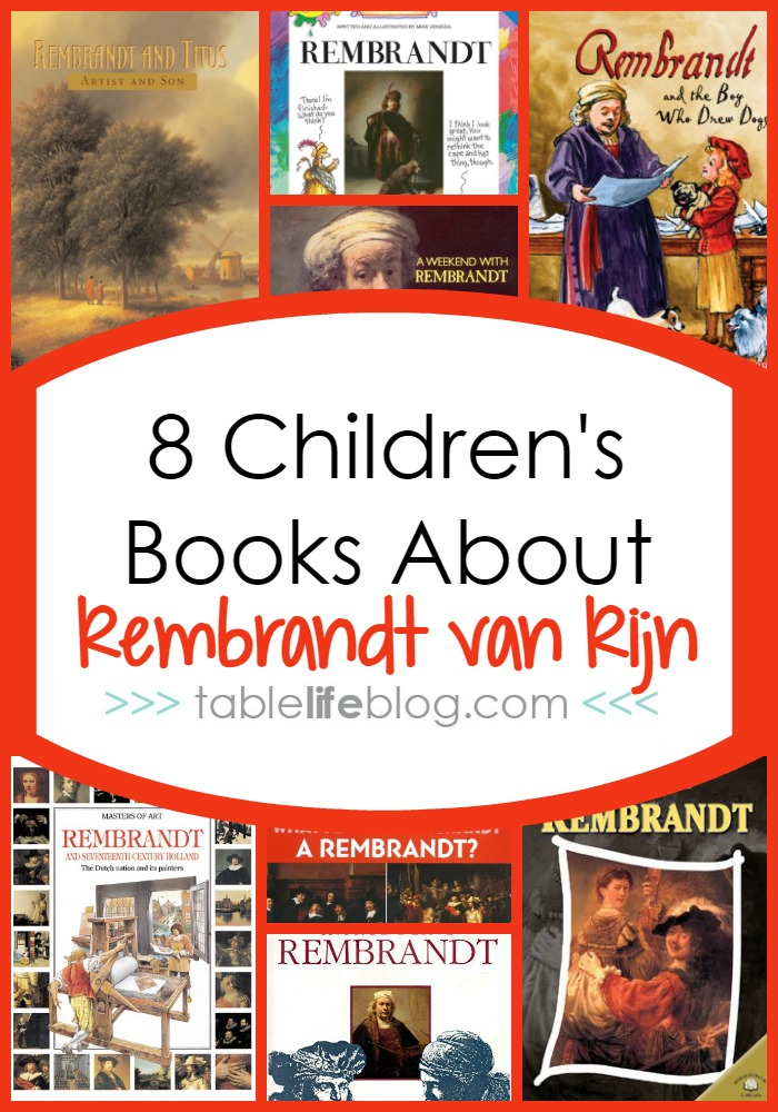 Children's Books About Rembrandt van Rijn