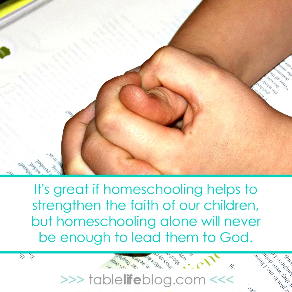 Why I Don't Schedule Homeschool Bible Time