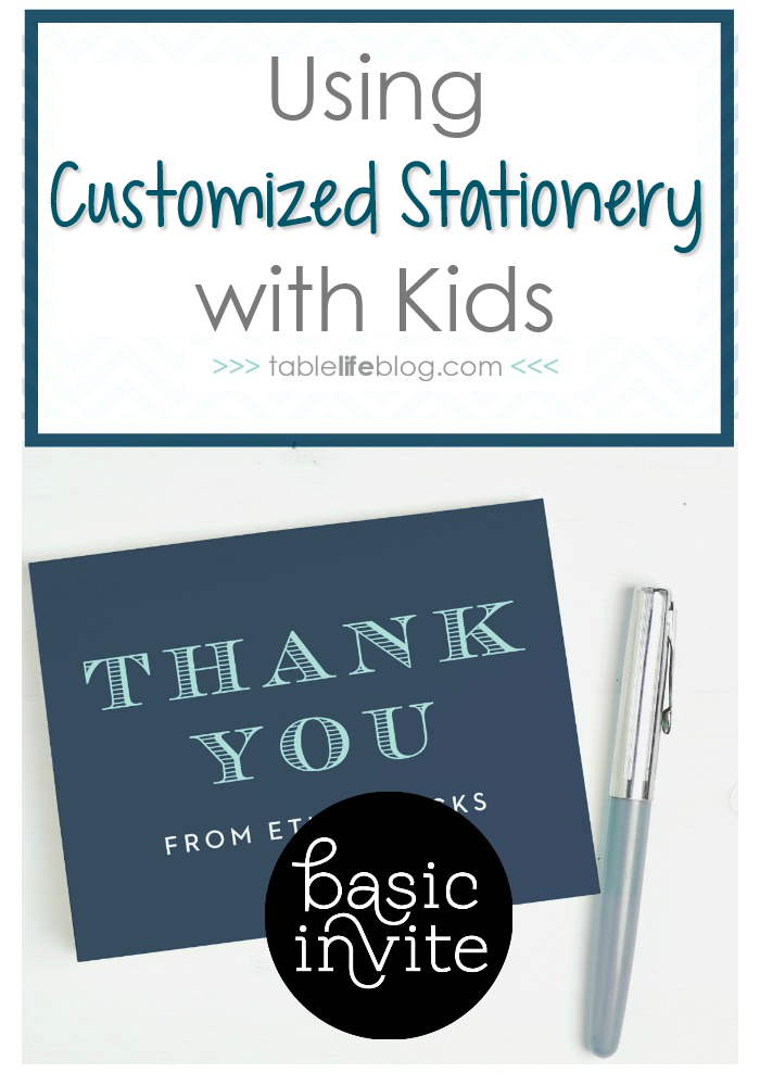 Using Custom Stationery with Kids