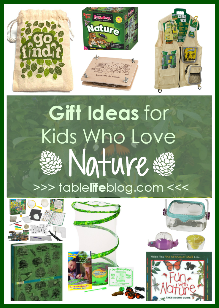 Gift Ideas for Kids Who Love Nature