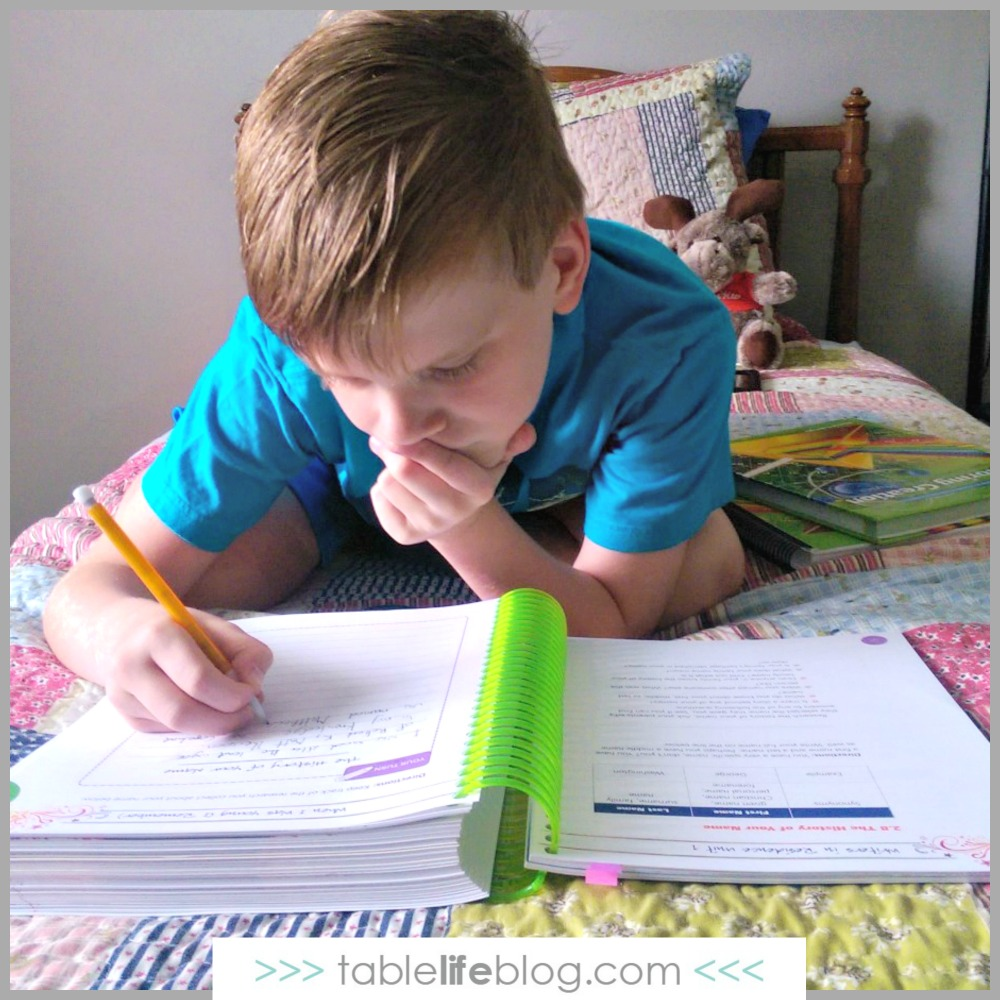 Writers in Residence: A Review of Apologia's Homeschool Writing Curriculum