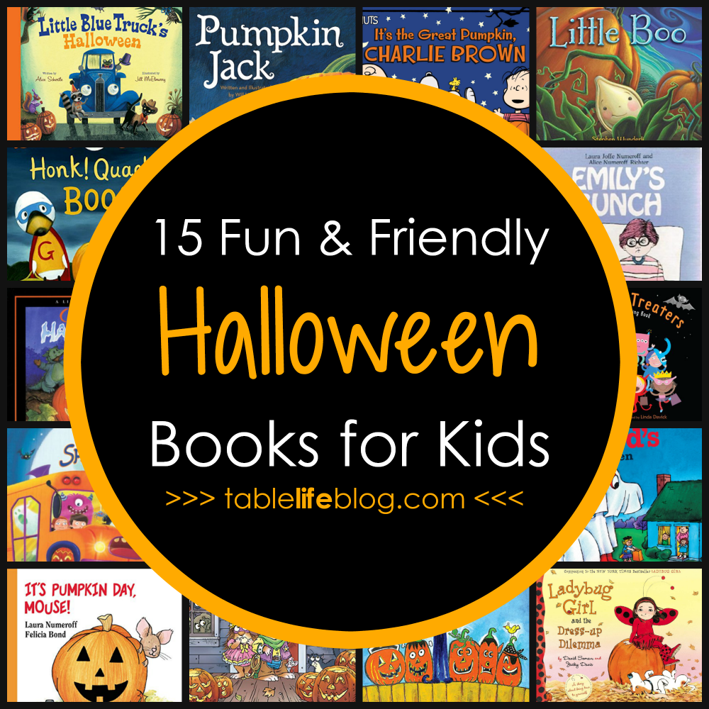 Fun & Friendly Halloween Books for Kids