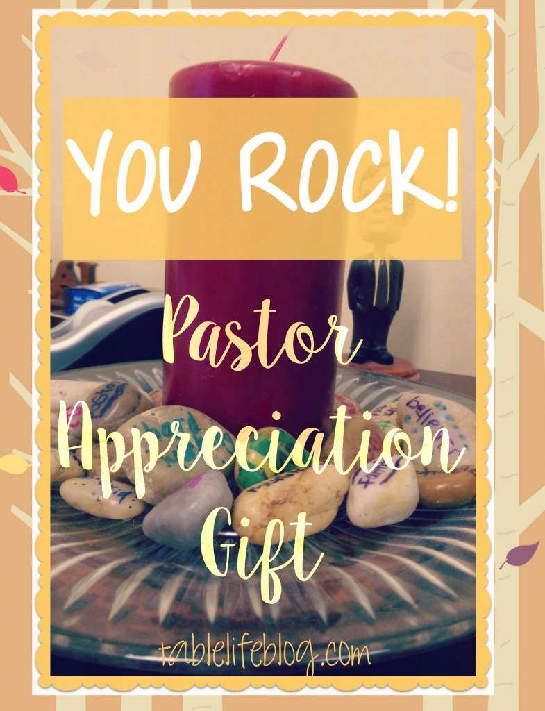 You Rock! - Adorable Pastor or Minister Appreciation Gift