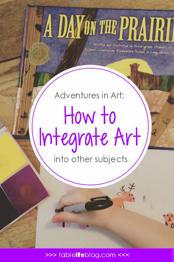 Adventures in Art: How to Integrate Art with Other Subjects