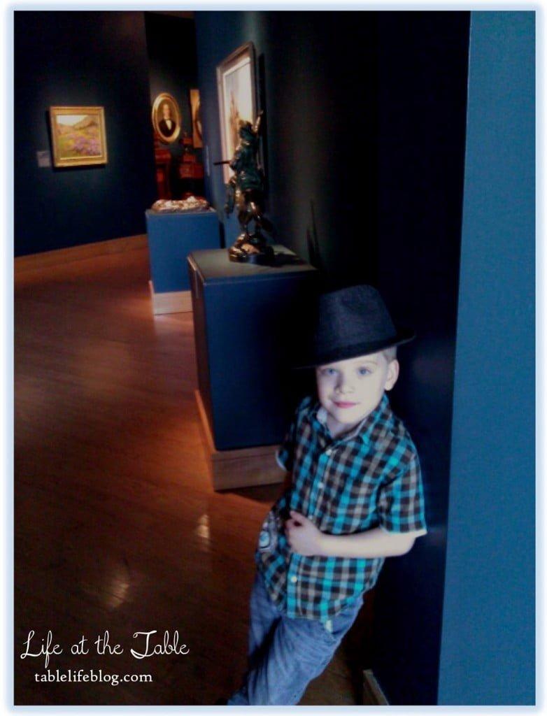 Homeschool Adventures in Art - Exploring the Birmingham Museum of Art