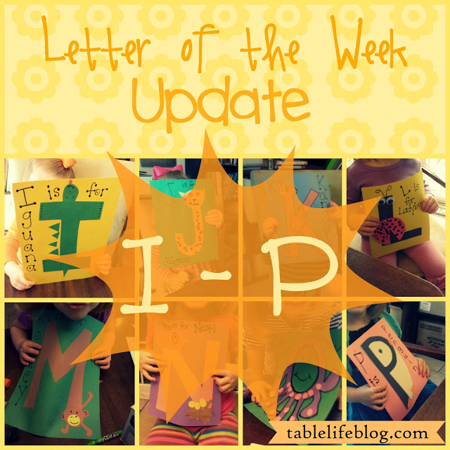 Letter of the Week I - P