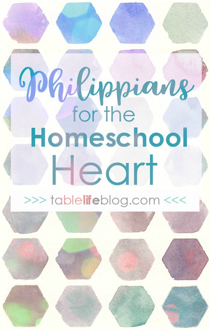 Philippians for the Homeschool Heart