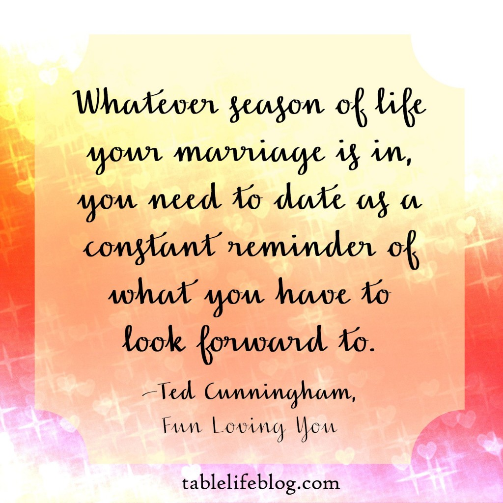Date your spouse!
