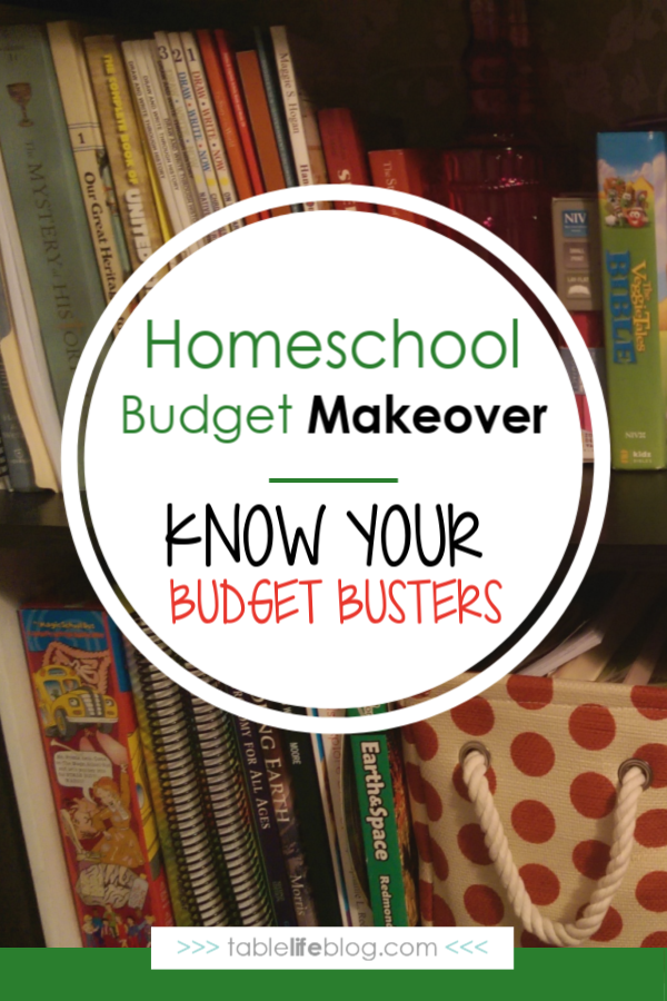 Make Over Your Homeschool Budget: Budget Busters