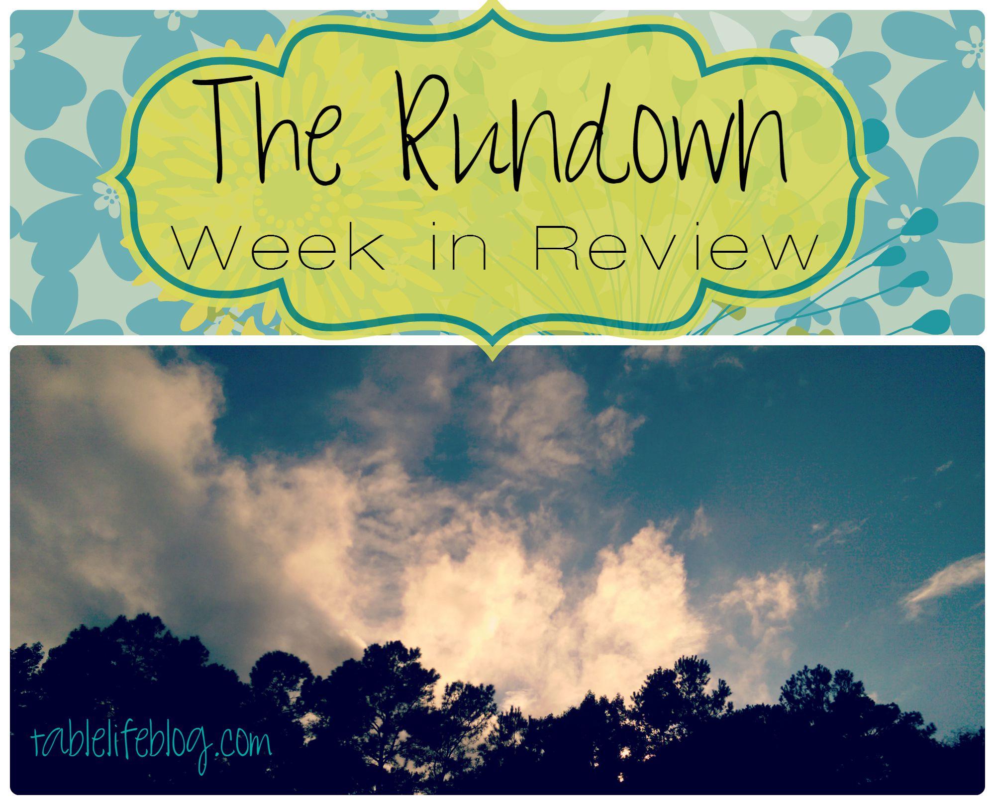 The Rundown - Week in Review - Week 3