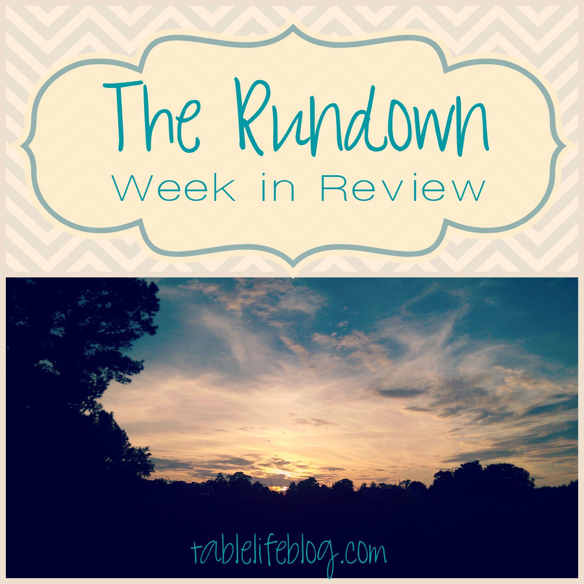 The Rundown - Week in Review - Week 4