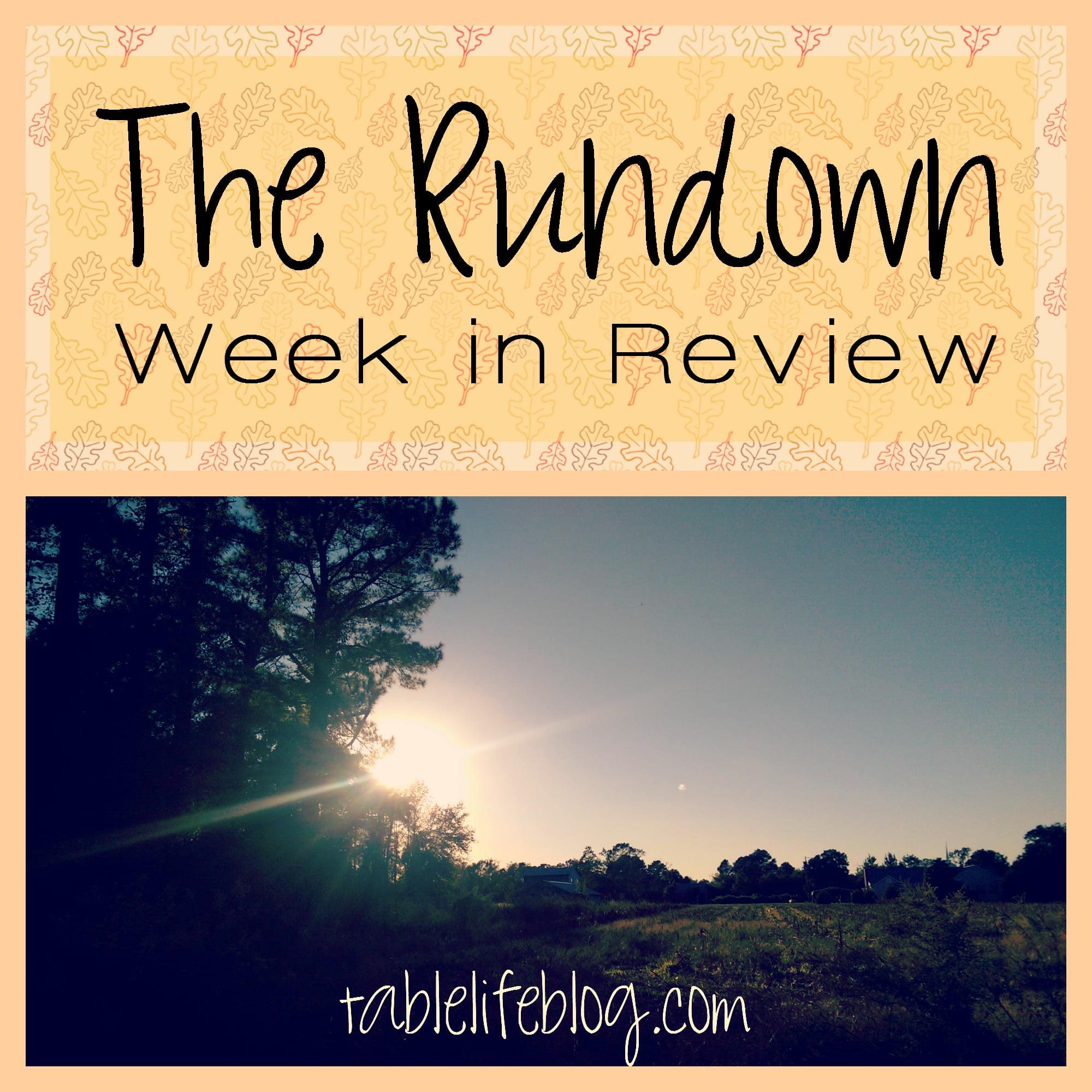 The Rundown - Week in Review - Week 9