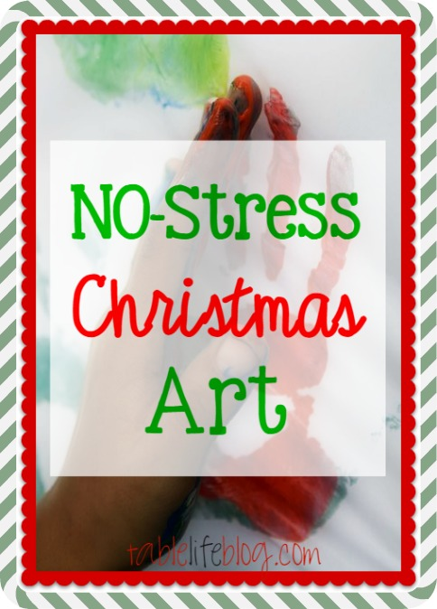 No Stress Christmas Art and Crafts