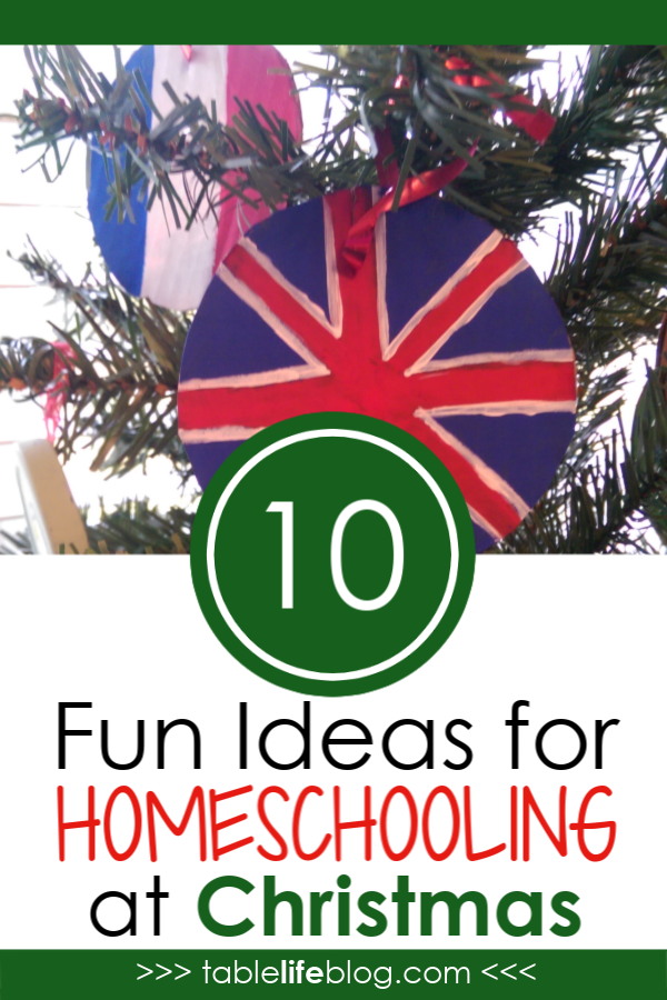 Hands-on Christmas Ideas: Awesome Ideas for Homeschooling at Christmas