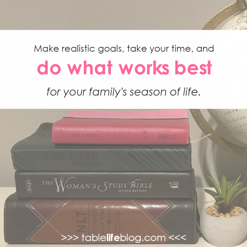 5 Tips for Reading the Bible with Your Family