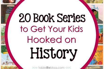 20 Book Series to Get Your Kids Hooked on History