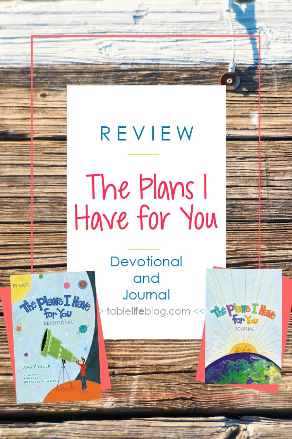 The Plans I Have for You Children's Devotional & Journal
