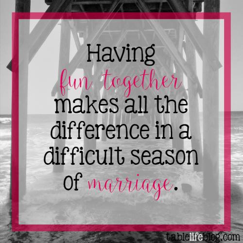 Marriage Is Fun