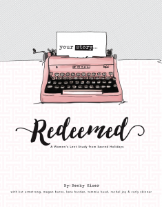 Redeemed - Sacred Holidays Lent Study { March Reading List 2016 }