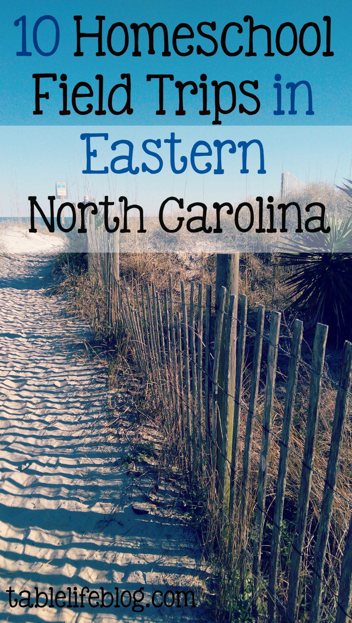 10 Homeschool Field Trips in Eastern North Carolina ...