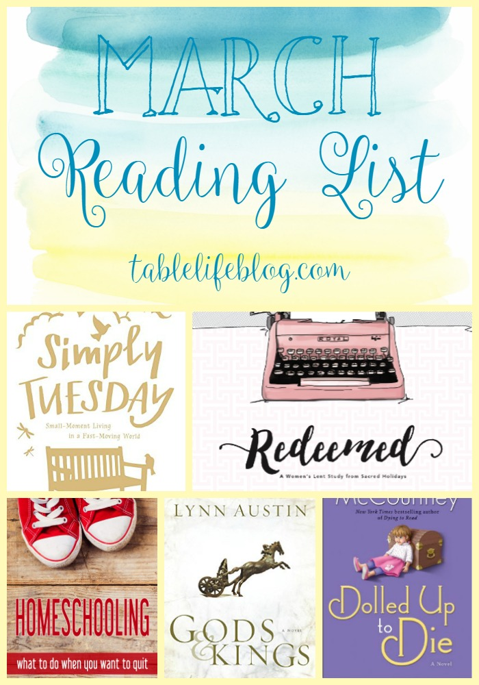 March 2016 Reading List