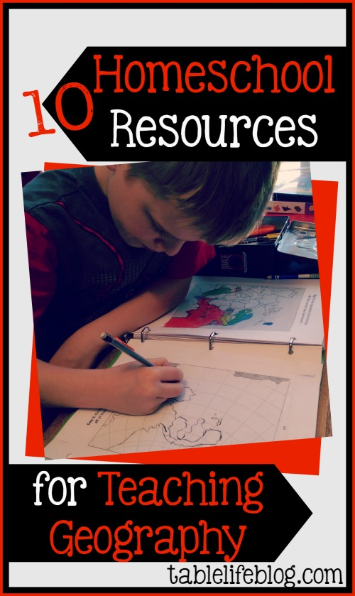 10 Homeschool Resources for Teaching Geography