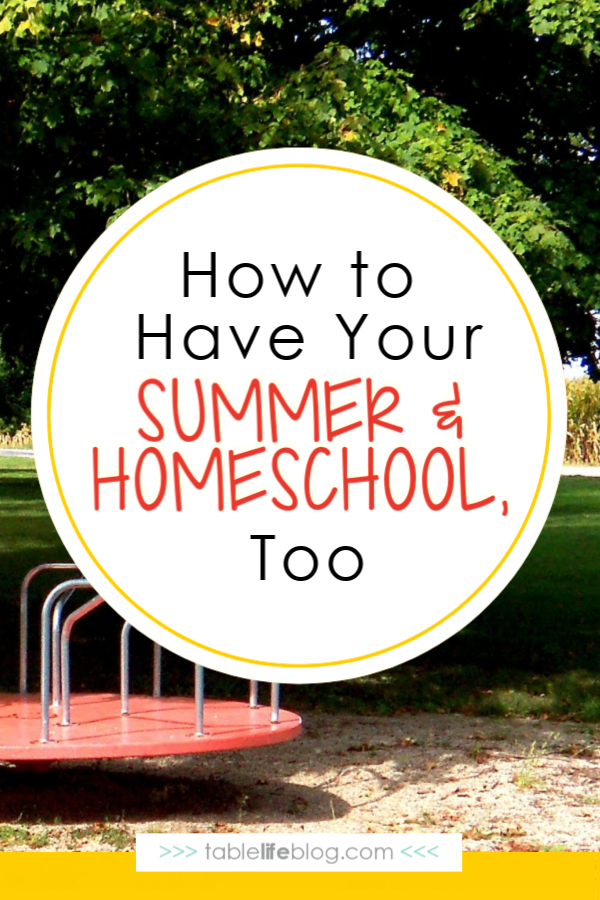 Not sure how to keep your kids learning this summer without overwhelming them (or even yourself)? Here are our favorite ways to enjoy summer and homeschool, too.