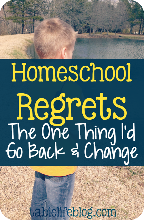 2016 Reader Favorites from Table Life Blog ~ Homeschool Regrets