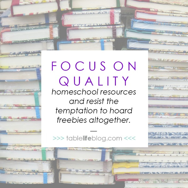 Confessions of a Homeschool Freebie Hoarder