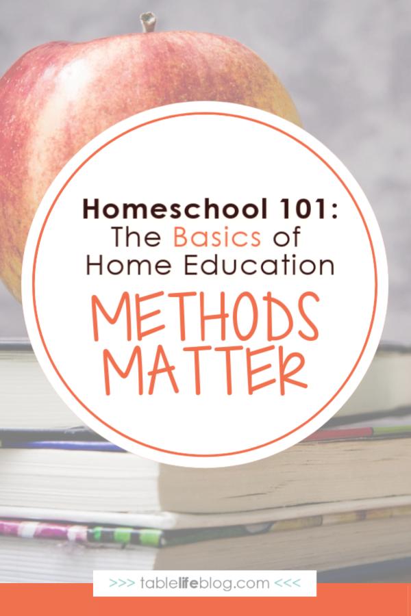 Homeschool 101: Methods & Philosophies