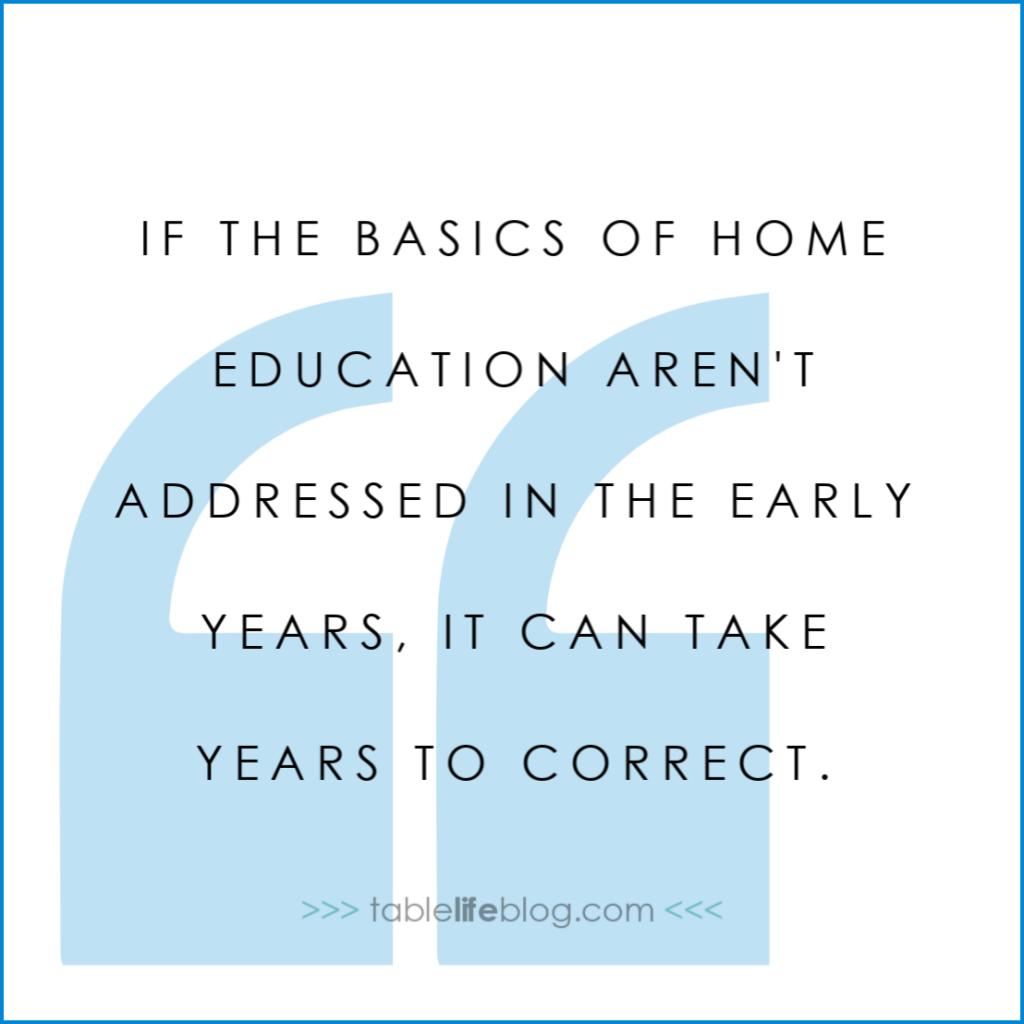 Homeschool 101: The Basics of Home Education
