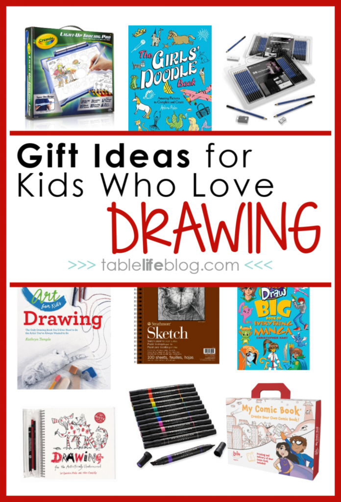 Drawing Gifts For Kids Ideas To Inspire Your Artist Tablelifeblog