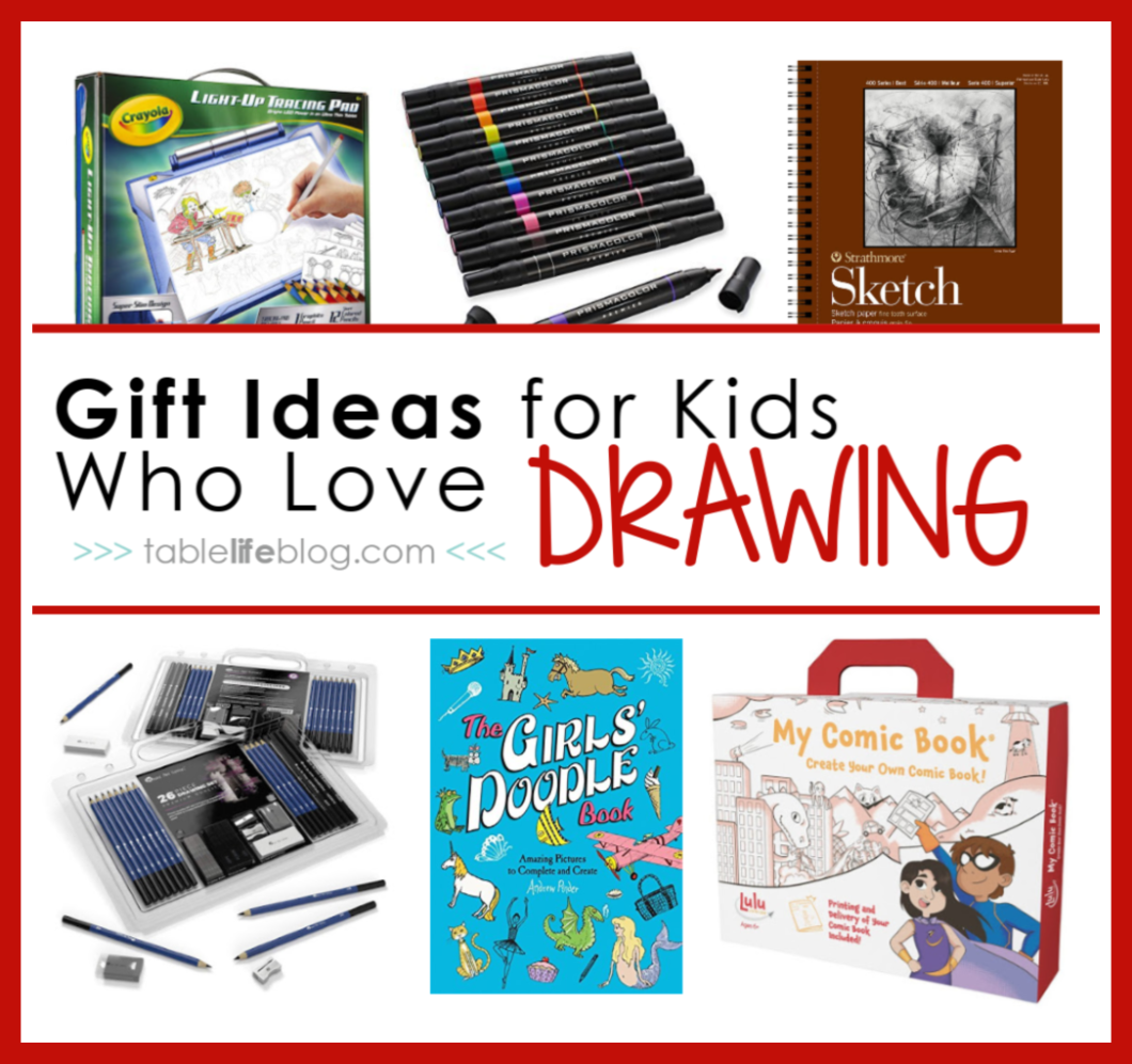 Drawing Gifts For Kids Ideas To Inspire Your Artist