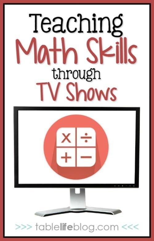 Teaching Math Skills through TV Shows