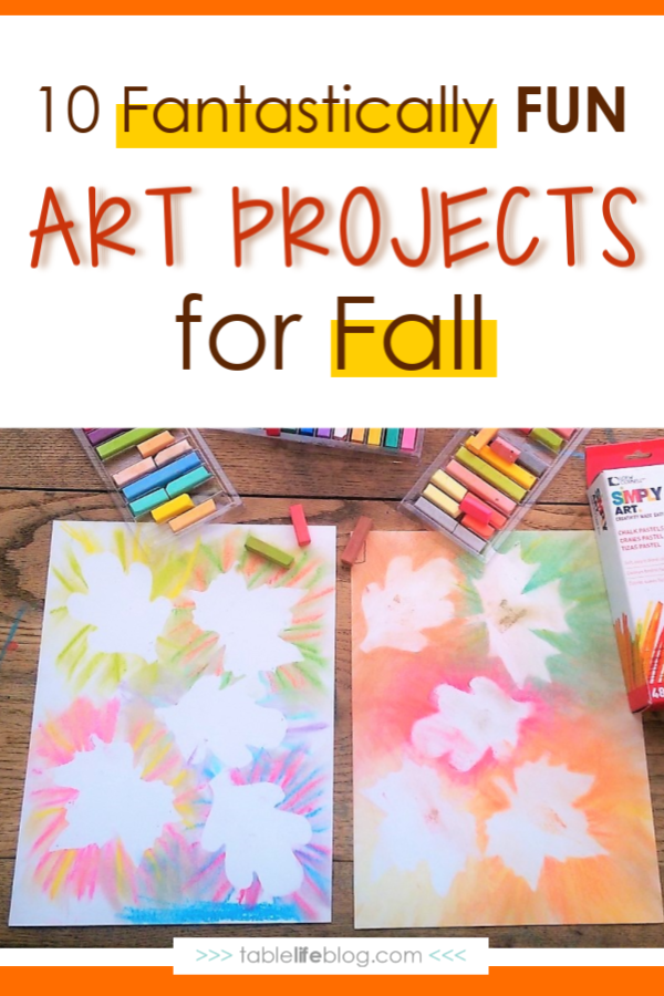 Fall art projects are a great way to celebrate autumn with your kiddos!