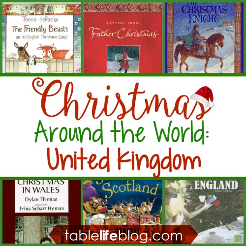 Christmas Around the World in 100 Books - United Kingdom