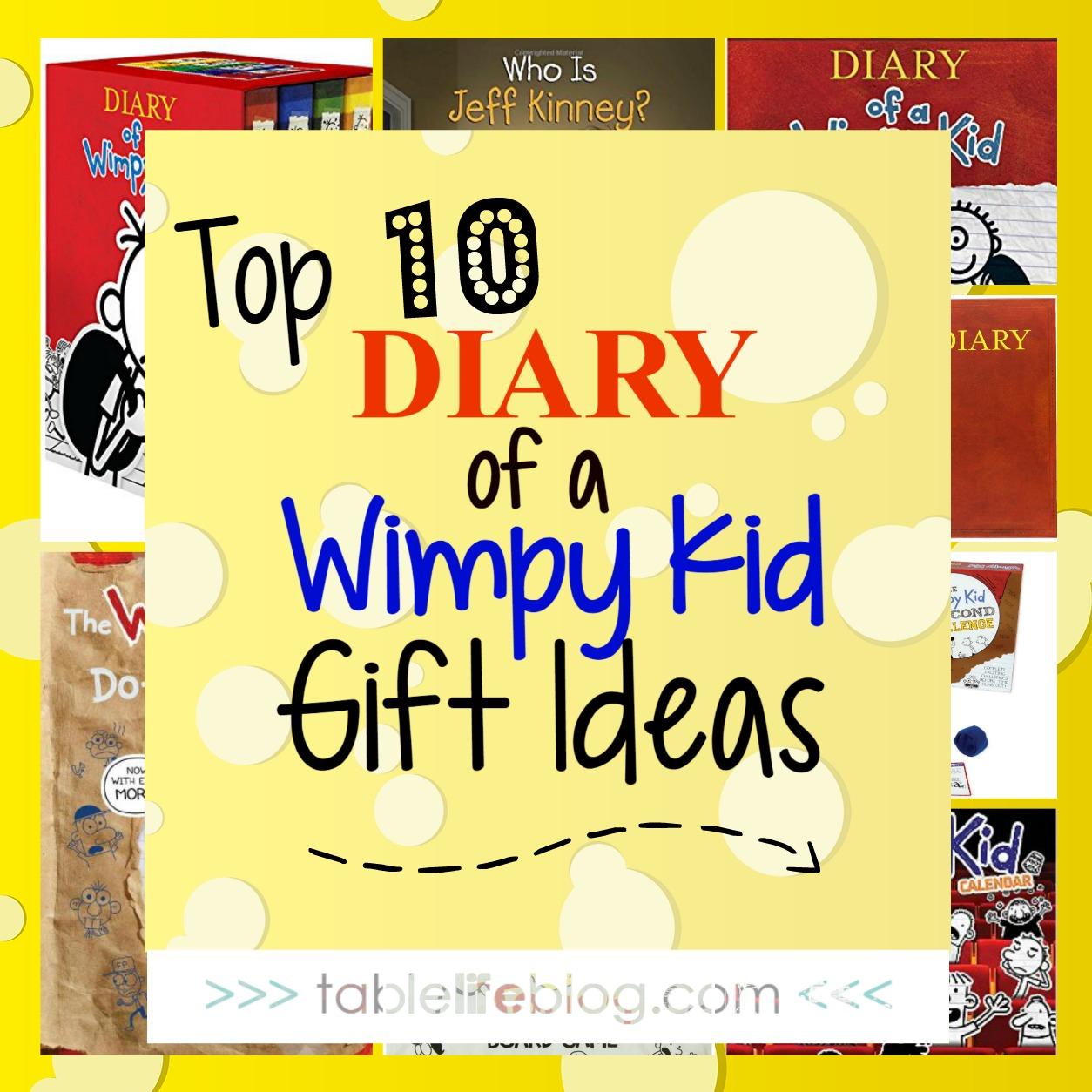 Diary of a wimpy kid gift guide top 10 wimpy kid gifts for your diary of a wimpy kid gift guide top 10 wimpy kid gifts for your kiddo tablelifeblog solutioingenieria Image collections
