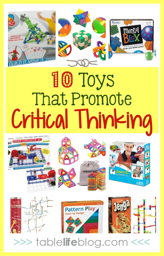 10 Toys that Promote Critical Thinking Skills - Critical Thinking Toys