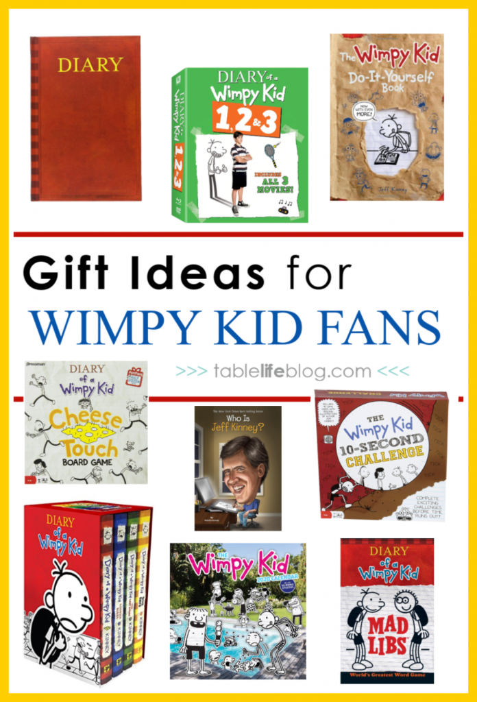 Diary Of A Wimpy Kid Gift Guide Top 10 Wimpy Kid Gifts For Your Kiddo Tablelifeblog
